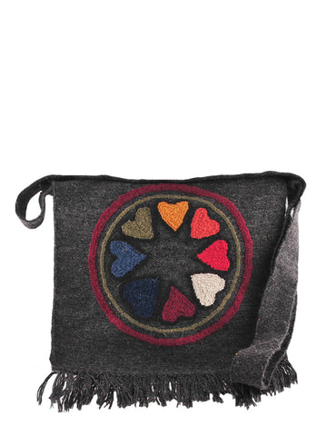 Pure Art Mandala Fringe Bag