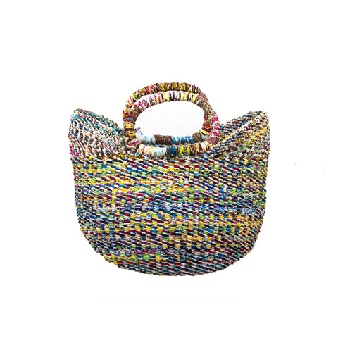 Small Recycled Bolga Basket