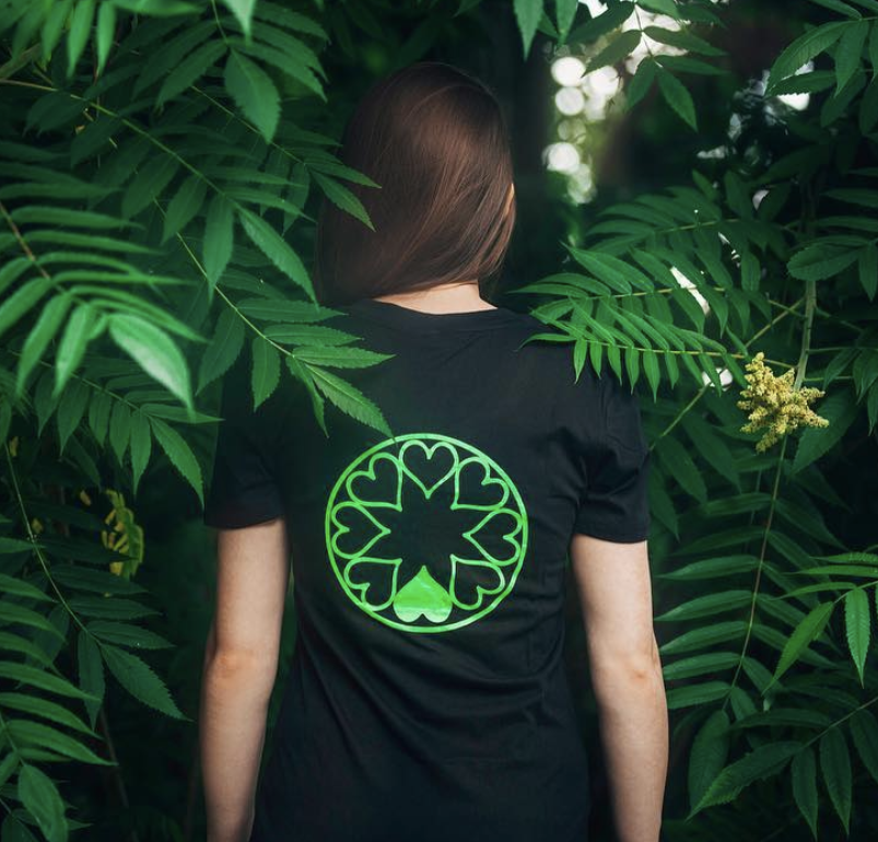 Green Heart Organic Cotton Unisex T-Shirt