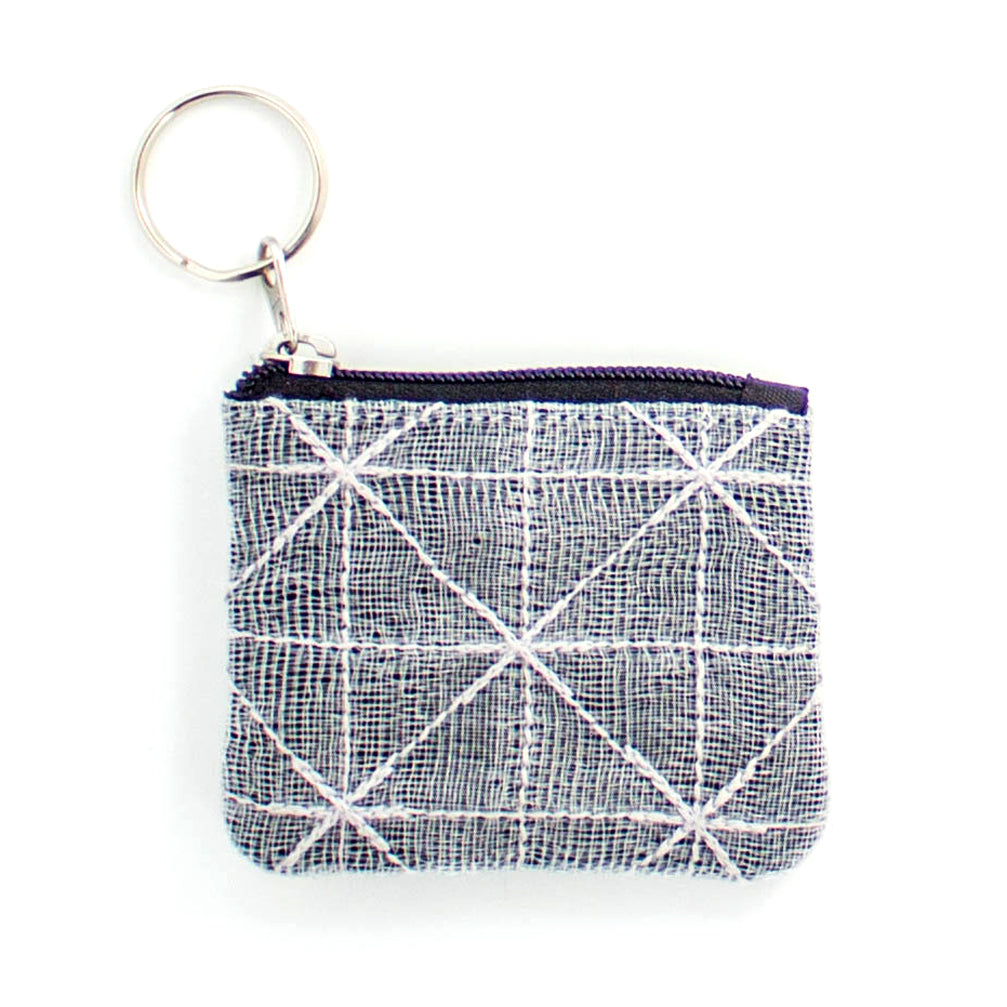 Silver Net Coin Pouch