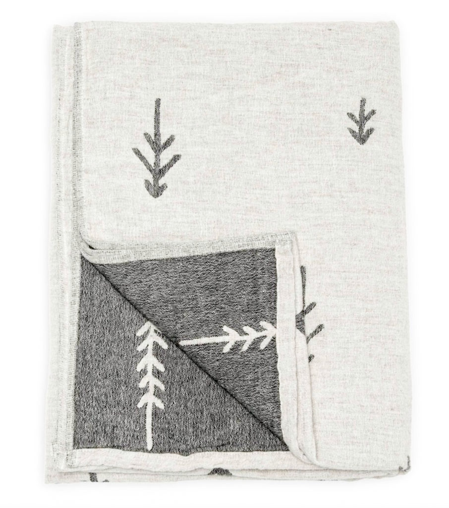 Tree Throw - Reversible Blanket