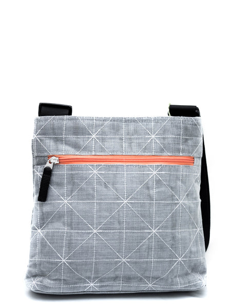 Silver Net Shoulder Bag