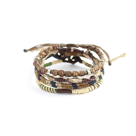 Earth Bracelet - 4 Strand Bundle