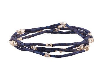 Navy Blue Zulugrass Wrap