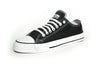 Organic and Fair Trade Etiko Sneakers - Low Cut - Black and White