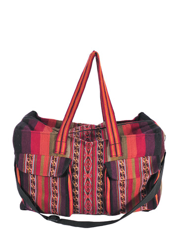 Traditional Cusco Woven Travel Bag