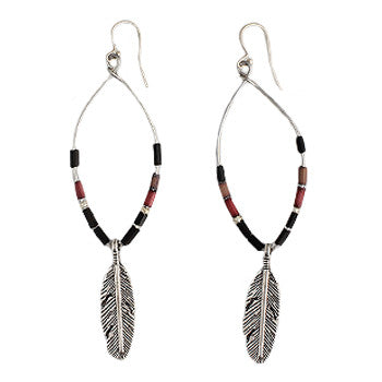 Zulugrass Feather Earrings