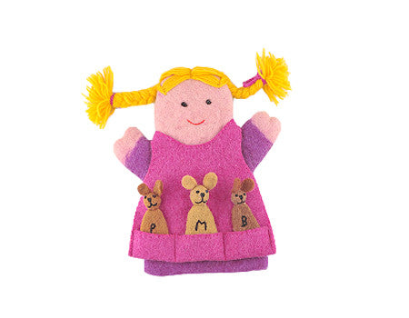 Goldilocks & The Three Bears Puppet Set