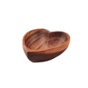 Small Acacia Wood Heart Bowl