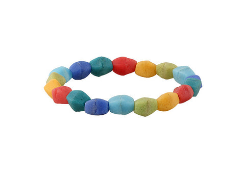 Rainbow Pebble Bracelet