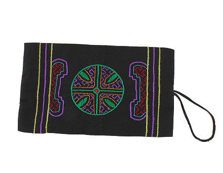 Shipibo Clutch - Purple