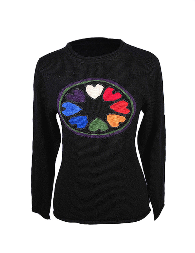 Pure Art Mandala Alpaca Sweater