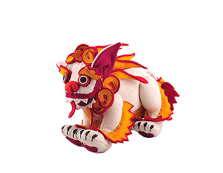Large  - Tibetan Snow Lion