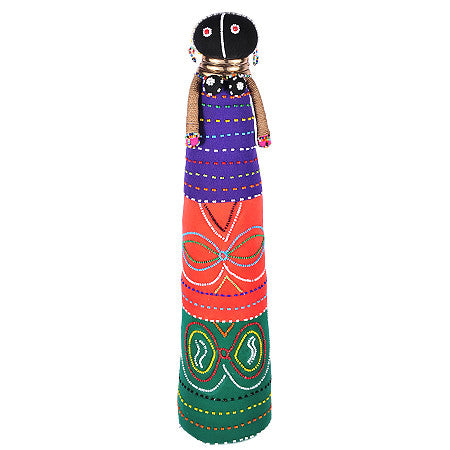 Ndebele  Ceremonial Doll - Tall