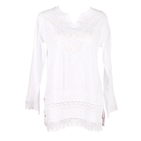 Sequin & Lace Tunic