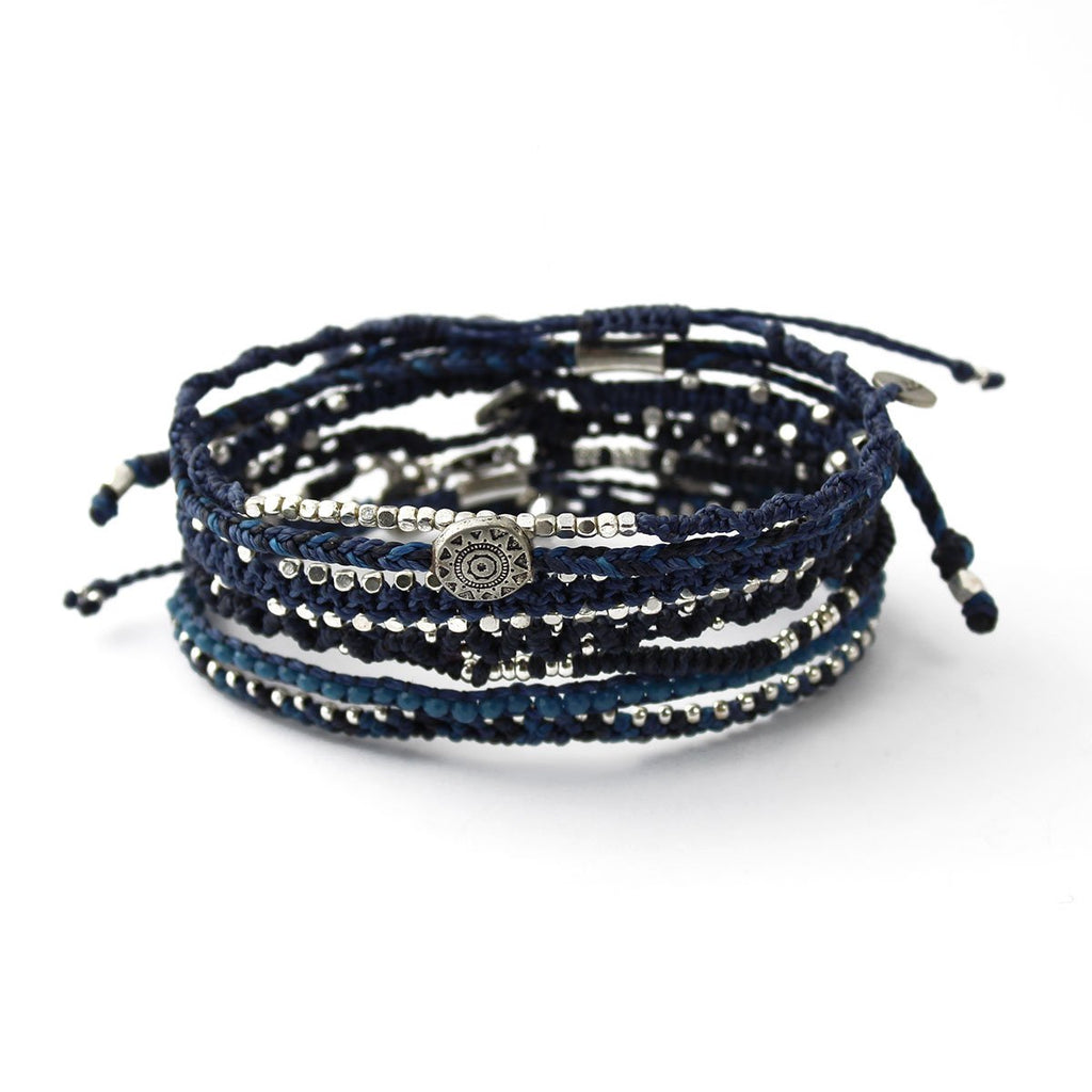 Earth Bracelet - Midnight Blue