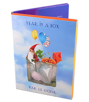 Year in a Box Card Set
