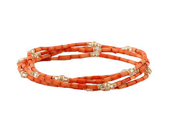 Bright Orange Zulugrass Wrap