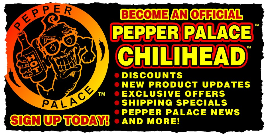 Pepper Palace - The Planet's Number One Hot Shop!