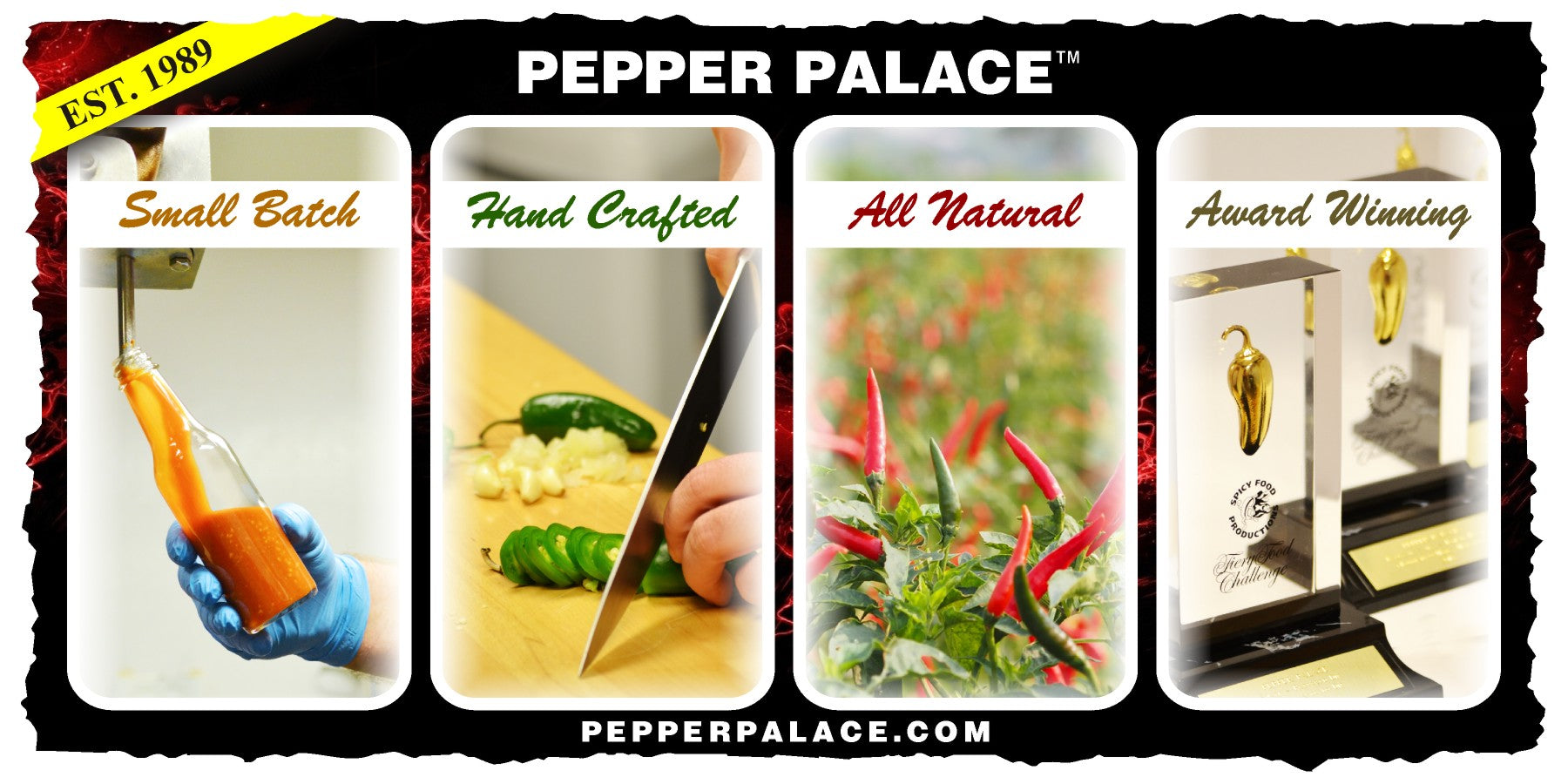 Pepper Palace Unique Selling Points