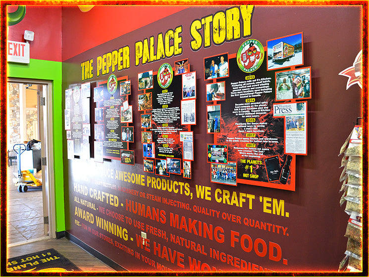 The Pepper Palace Story