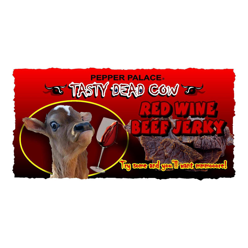 Tasty Dead Cow - Red Wine Beef Jerky