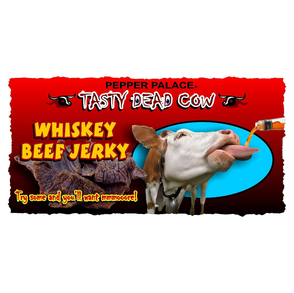 Tasty Dead Cow - Whiskey Beef Jerky
