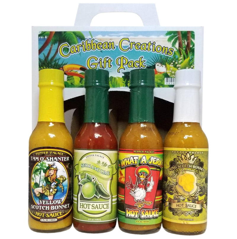 Caribbean Creations Hot Sauce Gift Pack