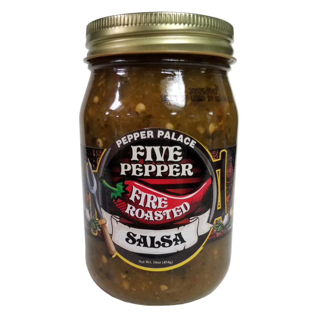 Pepper Palace Five Pepper Fire Roasted Salsa