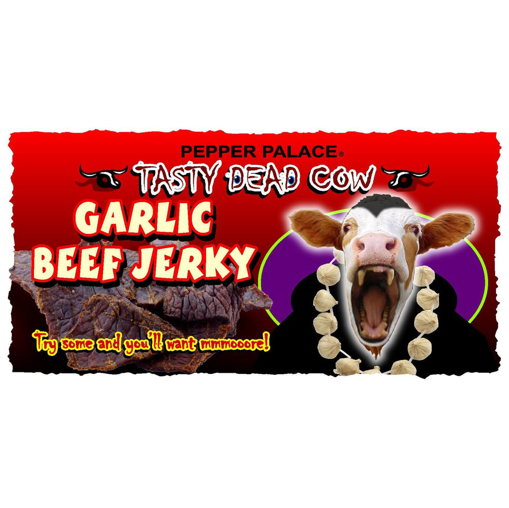 Tasty Dead Cow - Garlic Beef Jerky
