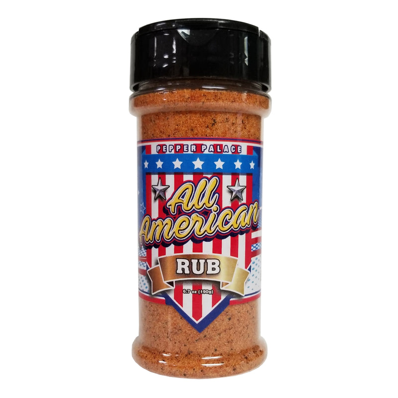 Pepper Palace All American Rub