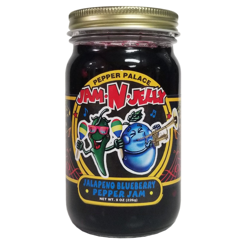 Pepper Palace Jam N Jelly Blueberry Jalapeno Jam