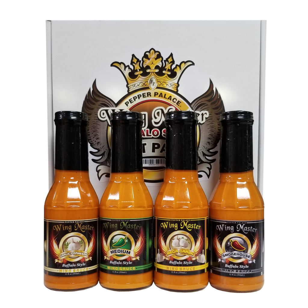 Pepper Palace Wing Master Buffalo Style Gift Pack