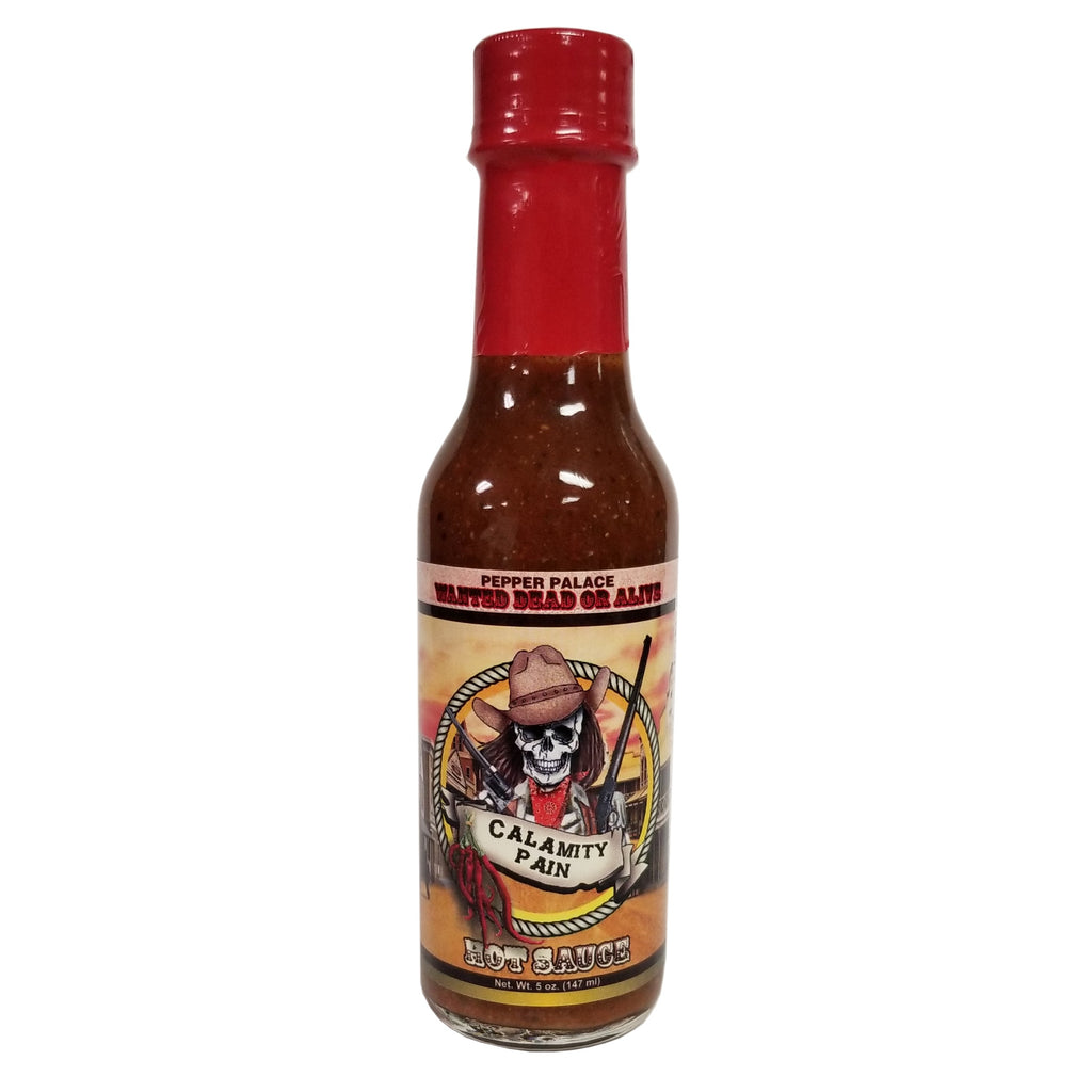 Pepper Palace Calamity Pain Hot Sauce