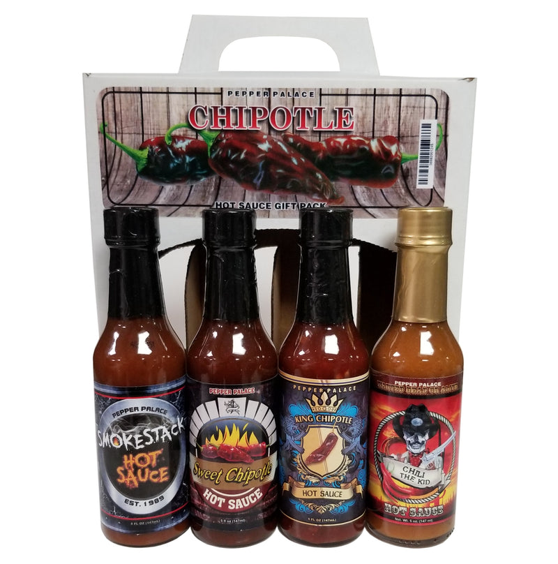 Pepper Palace Chipotle Hot Sauce Gift Pack
