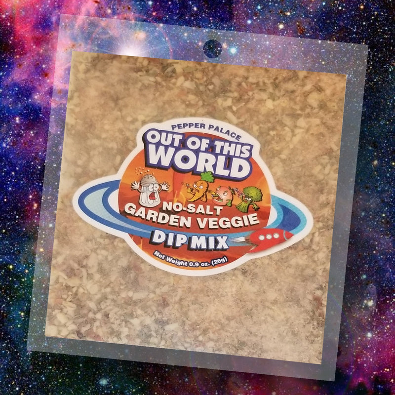 Out of this World Dip Mix - No Salt Garden Vegetable