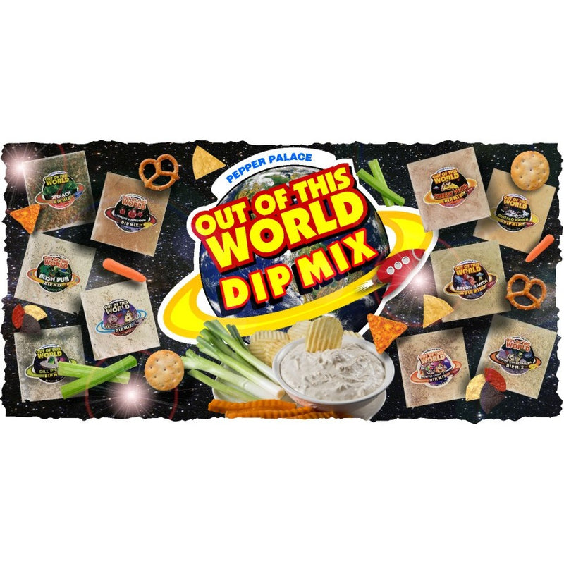 Pepper Palace Out of this World Dip Mix
