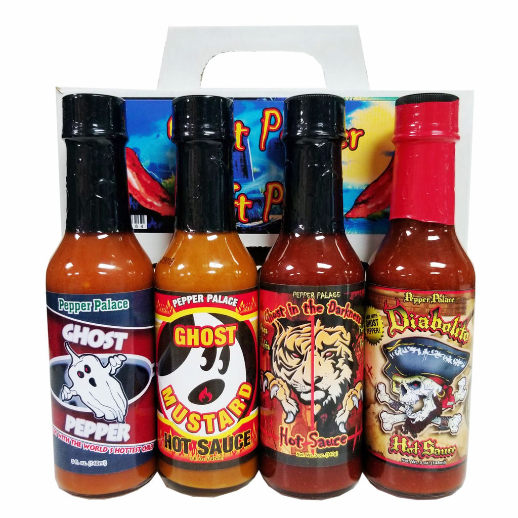 Pepper Palace Ghost Pepper Gift Pack