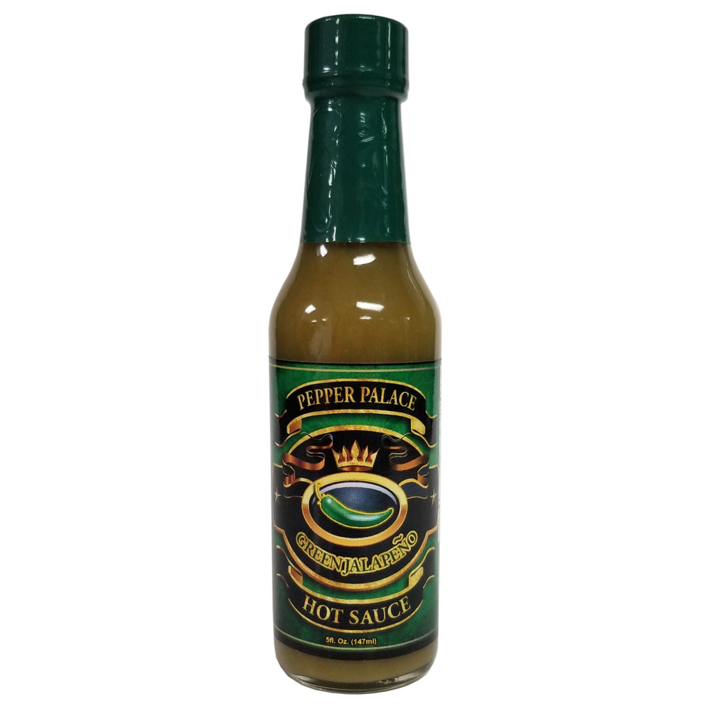 Pepper Palace Green Jalapeno Hot Sauce