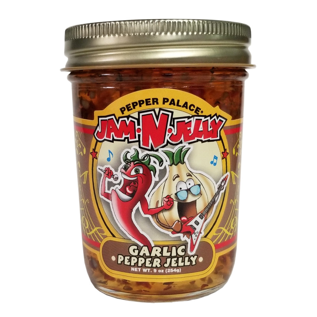 Pepper Palace Jam N Jelly Garlic Pepper Jelly