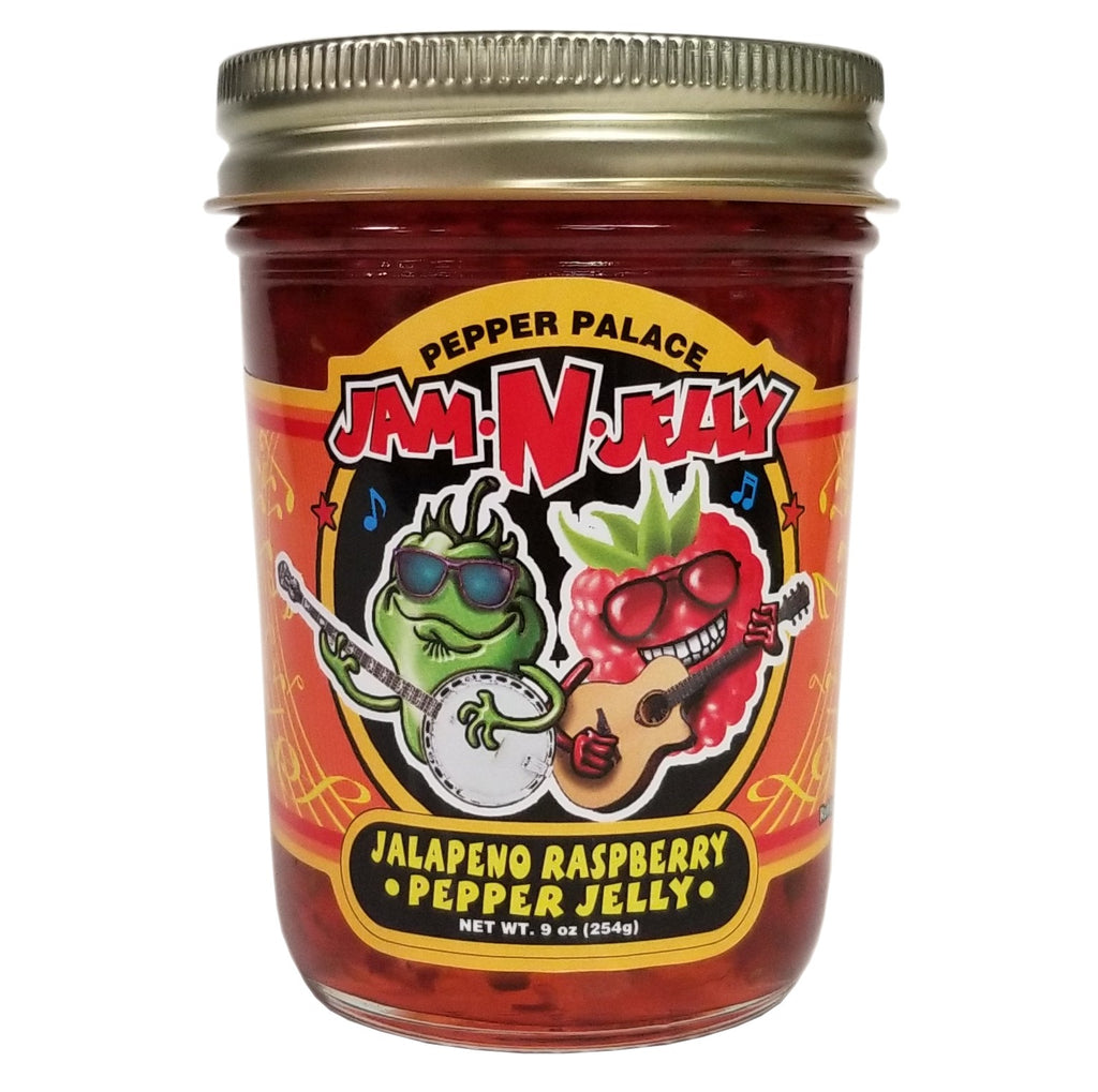 Pepper Palace Jam n Jelly Raspberry Jalapeno