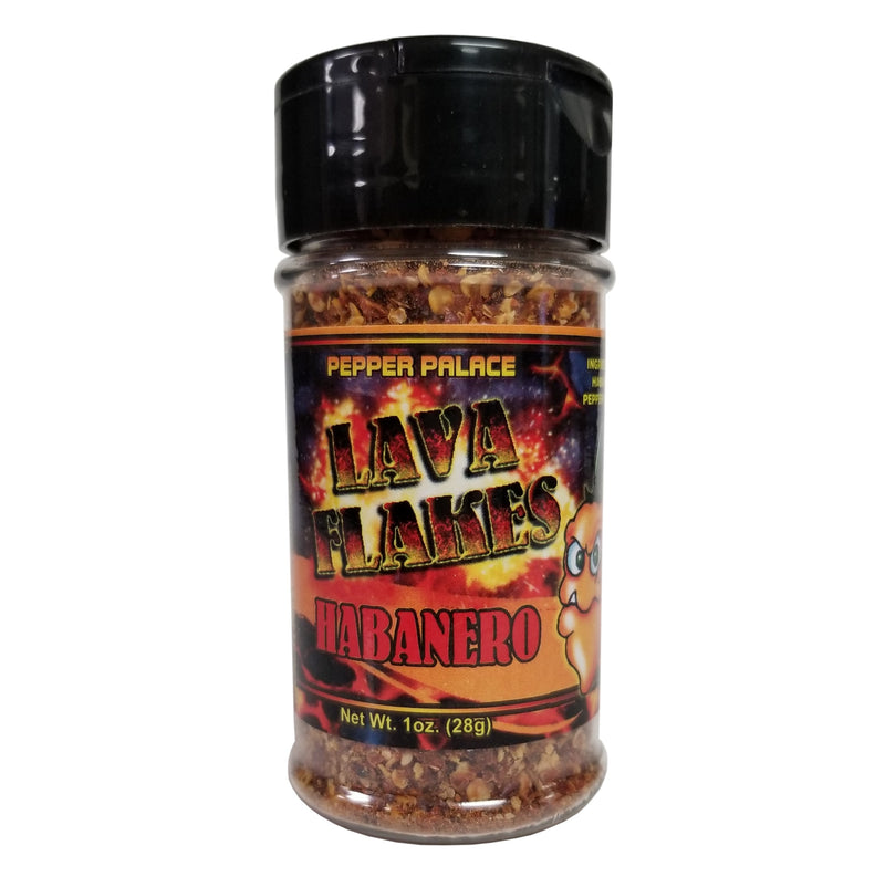 Pepper Palace Lava Flakes Habanero Pepper Flakes
