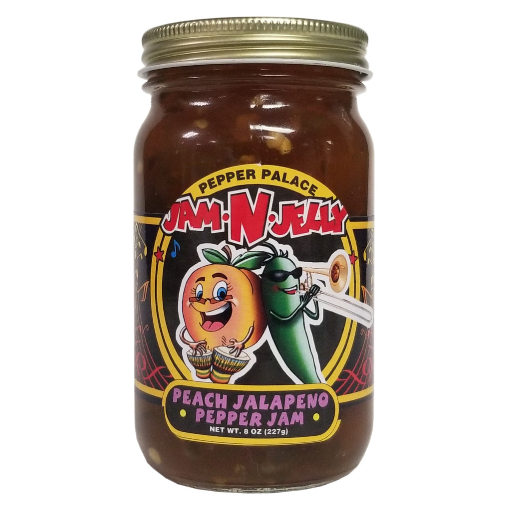 Pepper Palace Jam N Jelly Peach Jalapeno Jam