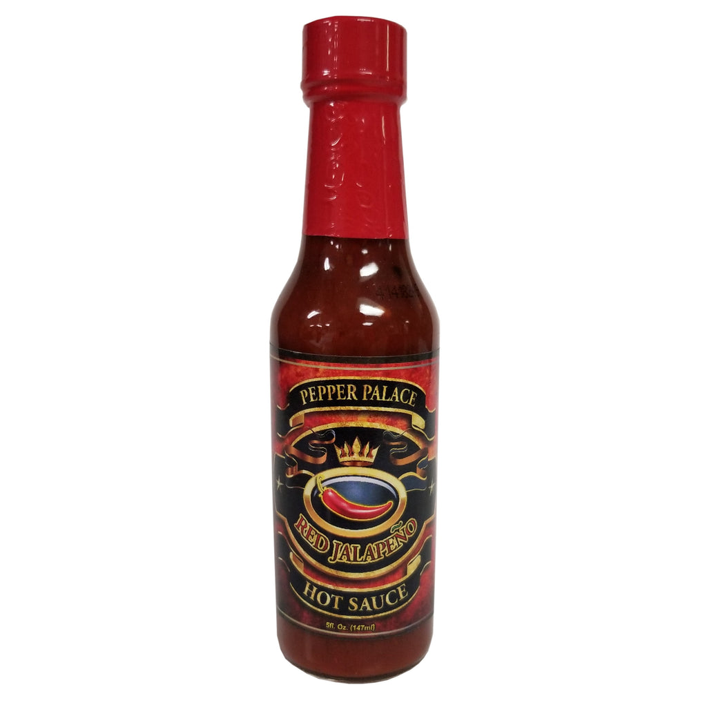 Pepper Palace Red Jalapeno Hot Sauce