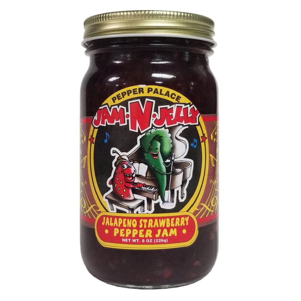 Pepper Palace Jam N Jelly Strawberry Jalapeno Jam