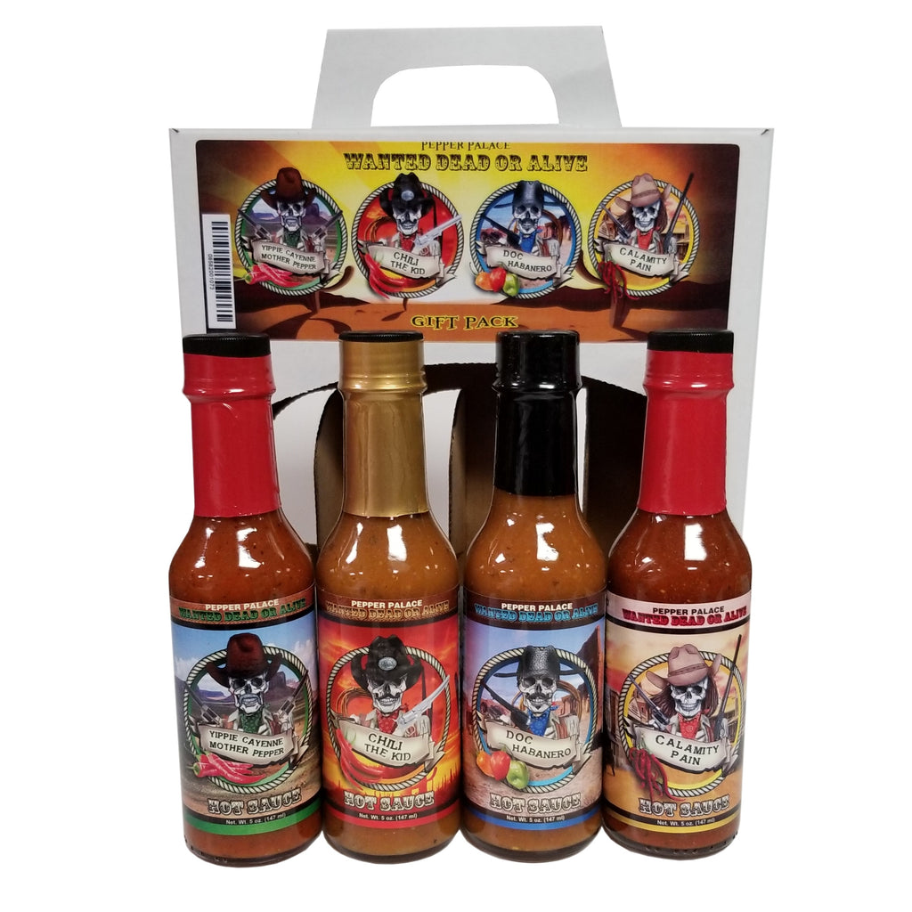 Pepper Palace Wanted Dead Or Alive Gift Pack