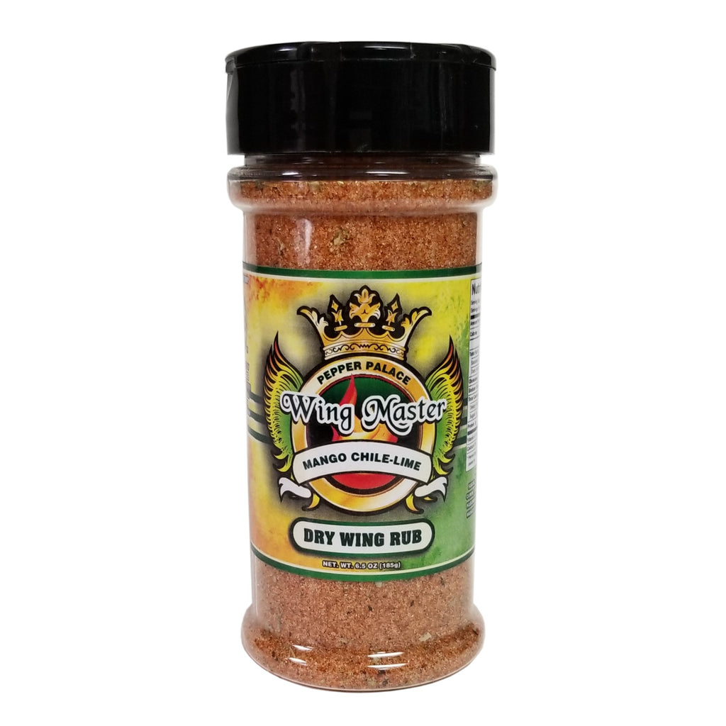 Pepper Palace Wing Master Mango Chile-Lime Dry Wing Rub