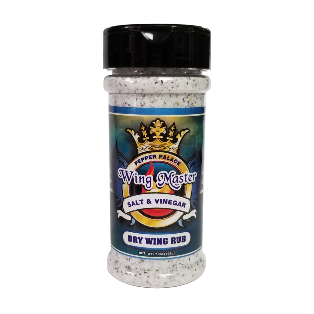 Pepper Palace Wing Master Salt And Vinegar Dry Wing Rub