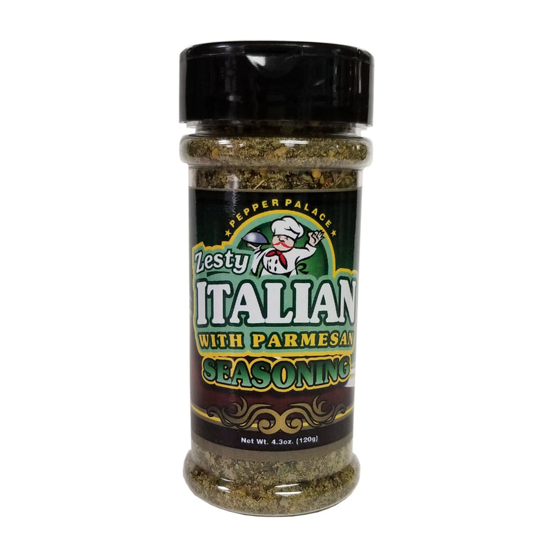 Pepper Palace Zesty Italian with Parmesan Seasoning