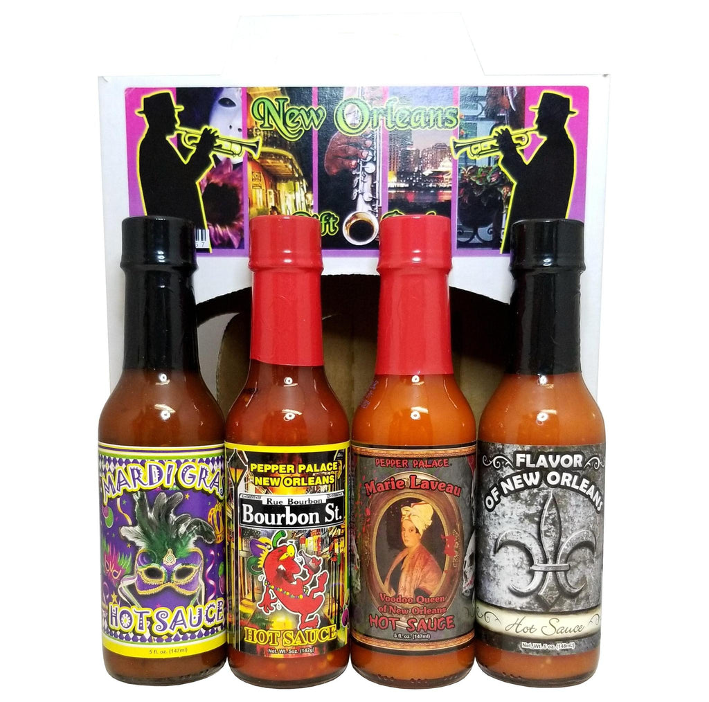 New Orleans - Hot Sauce Gift Pack